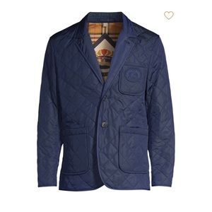 Burberry Men's Clifton Quilted Jacket Brighton